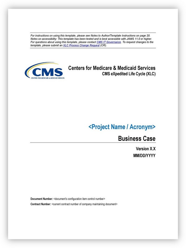 Business Case Template 31