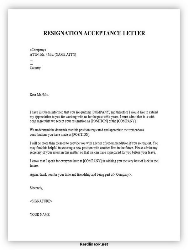 Resignation Acceptance Letter 04